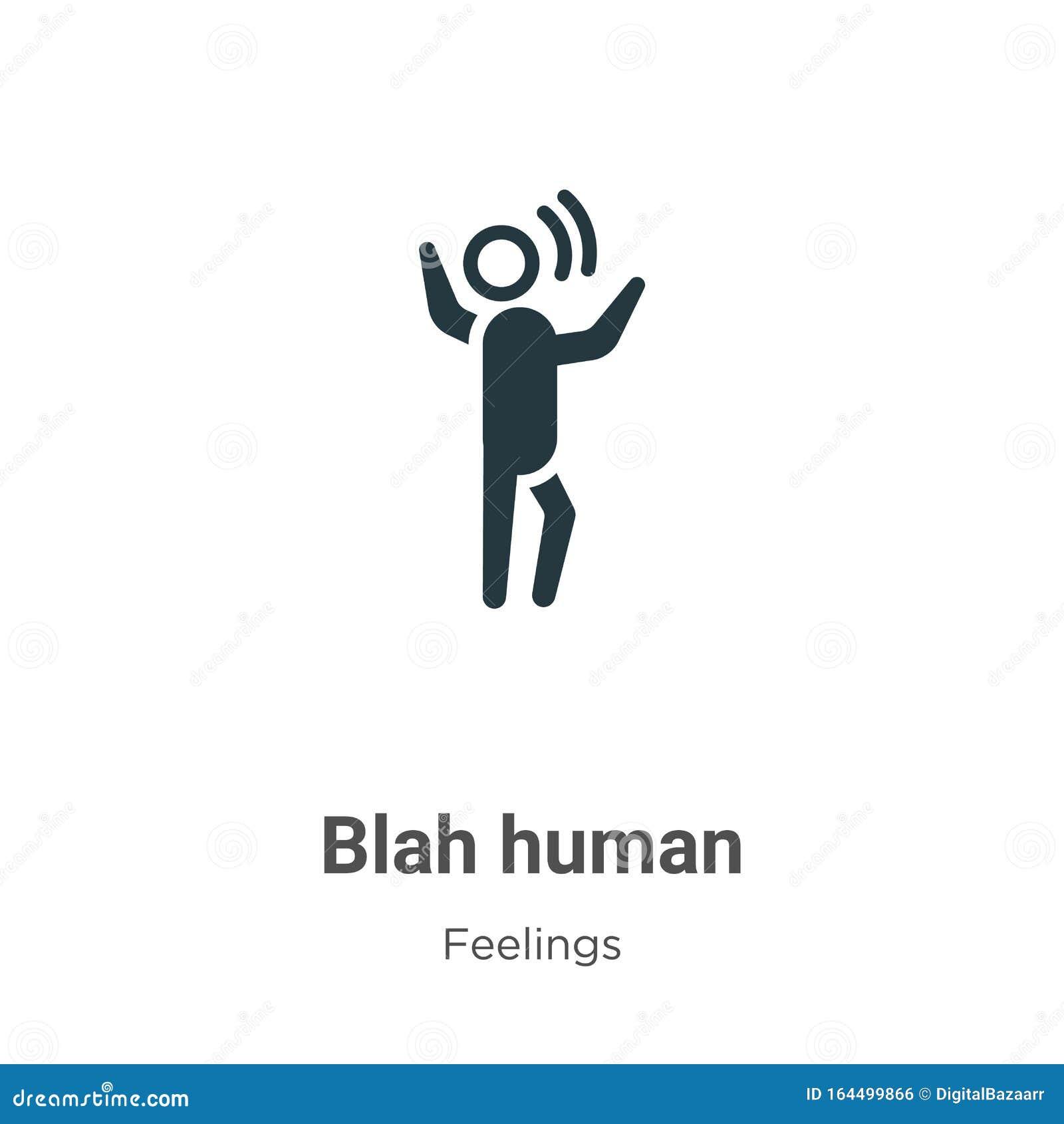 Blah Talk Comic Bubble Text Vector Illustration