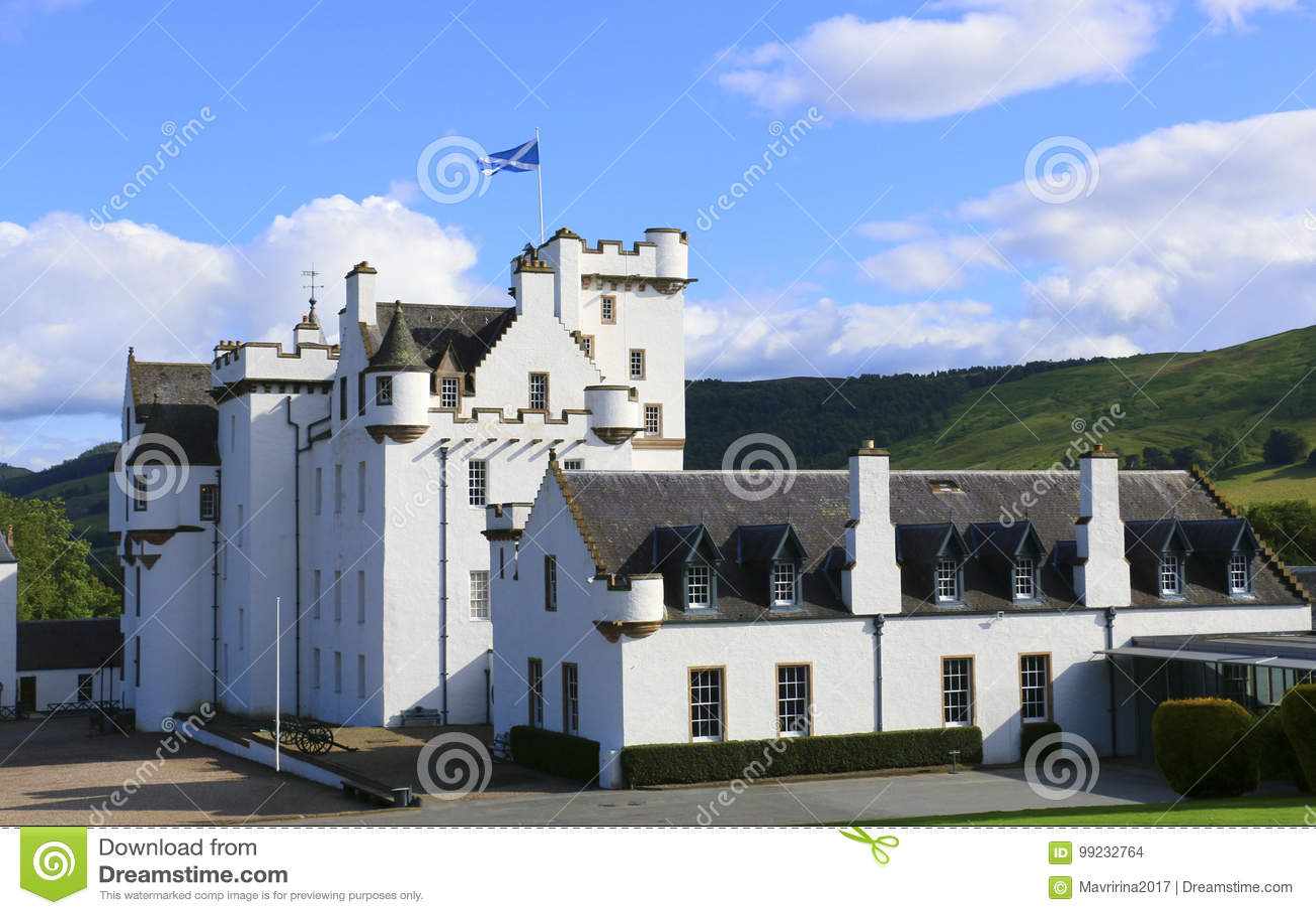 Blair Castle, Atholl, Schottland