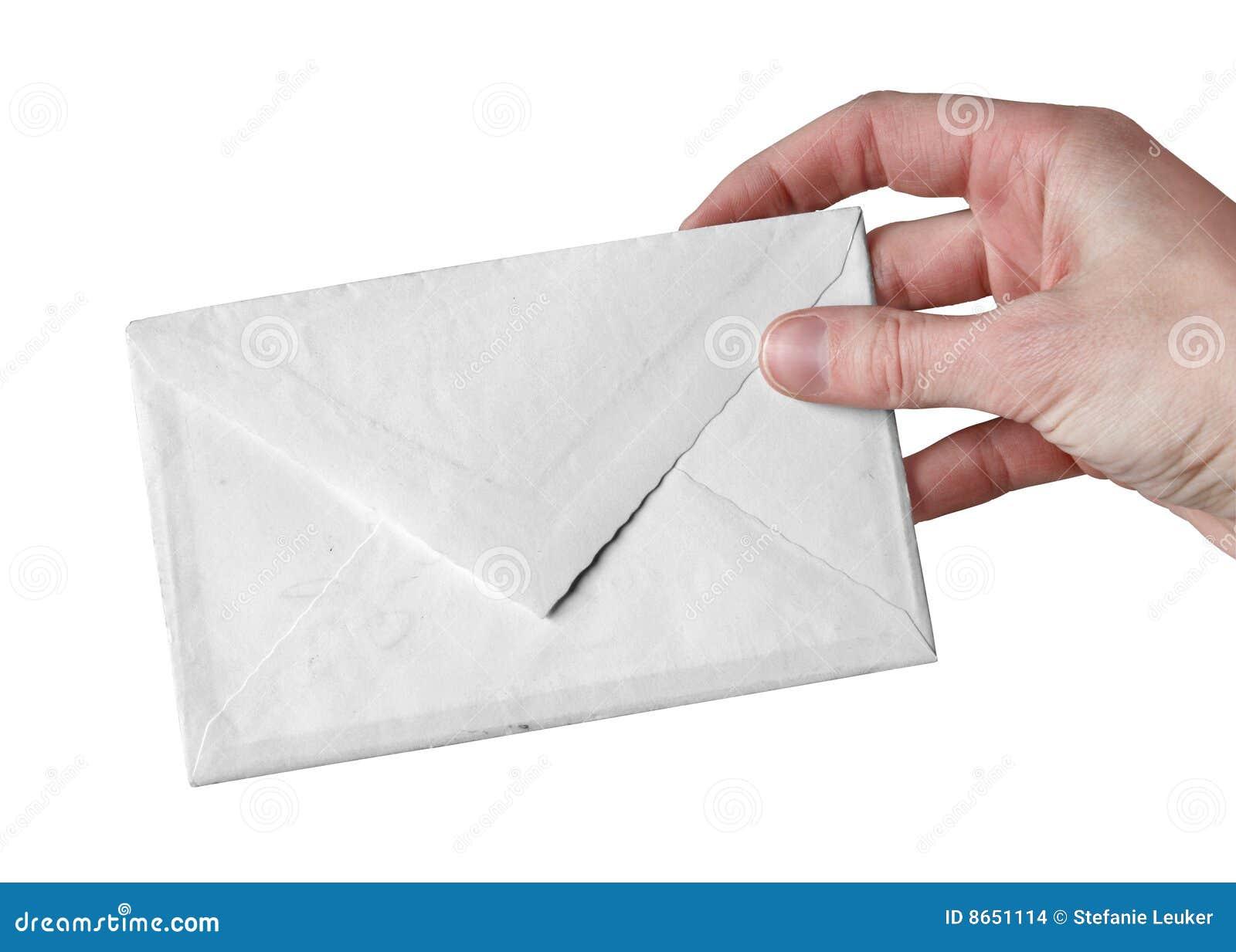 Blanc d enveloppe
