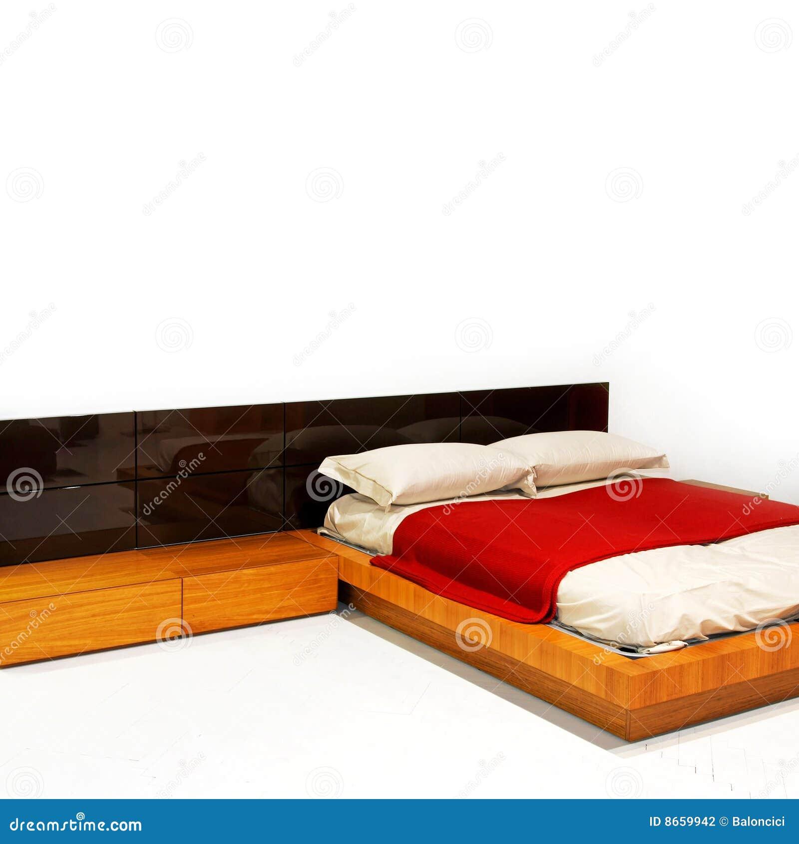 Blanc de chambre à coucher