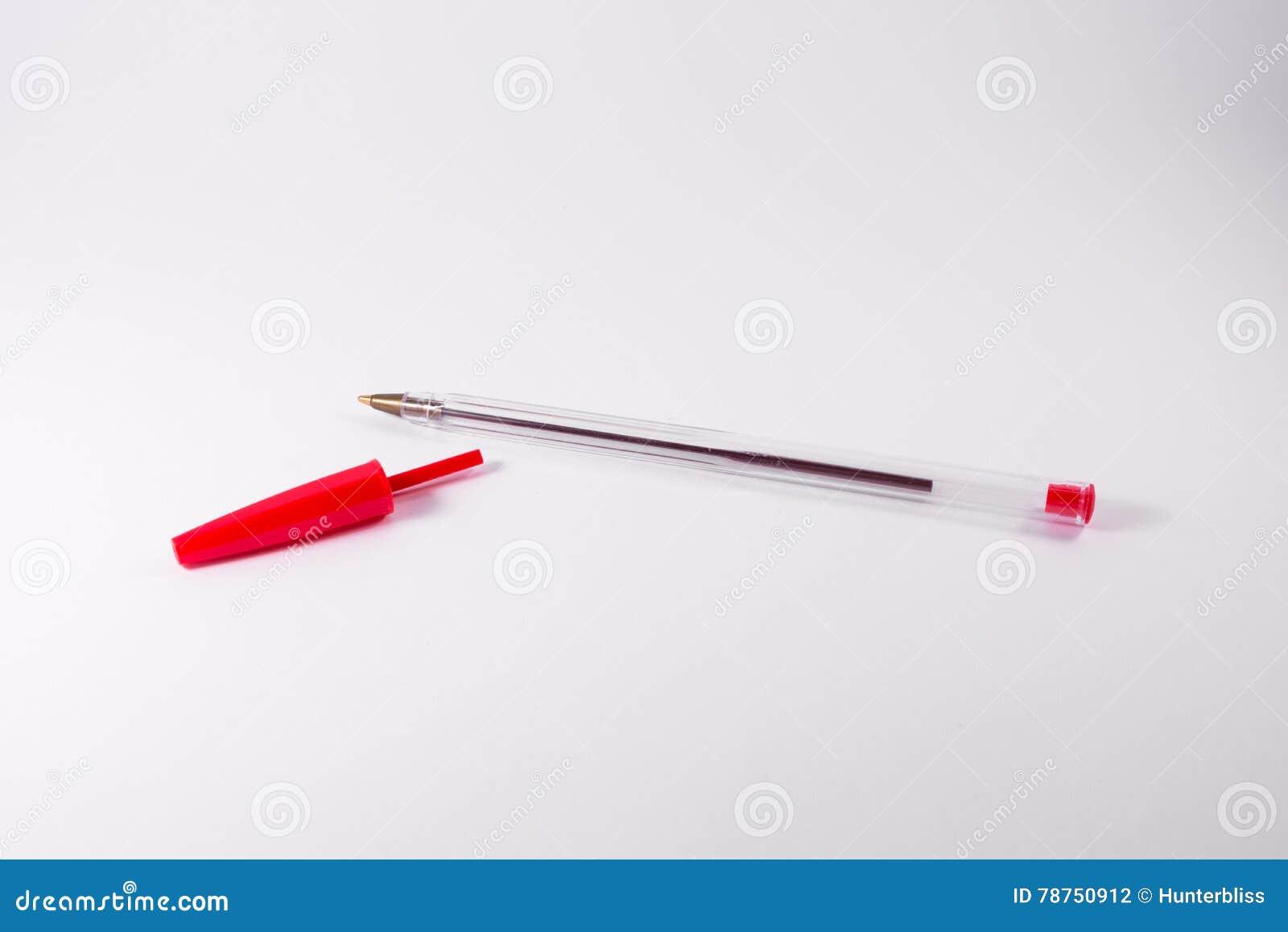 Blanc rouge backgroun de fourniture de bureau d espace libre de