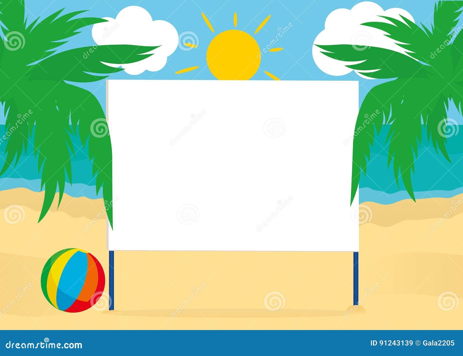 Blanc vide d 39 affiche de panneau d 39 affichage sur un fond de for Fond affiche gratuit