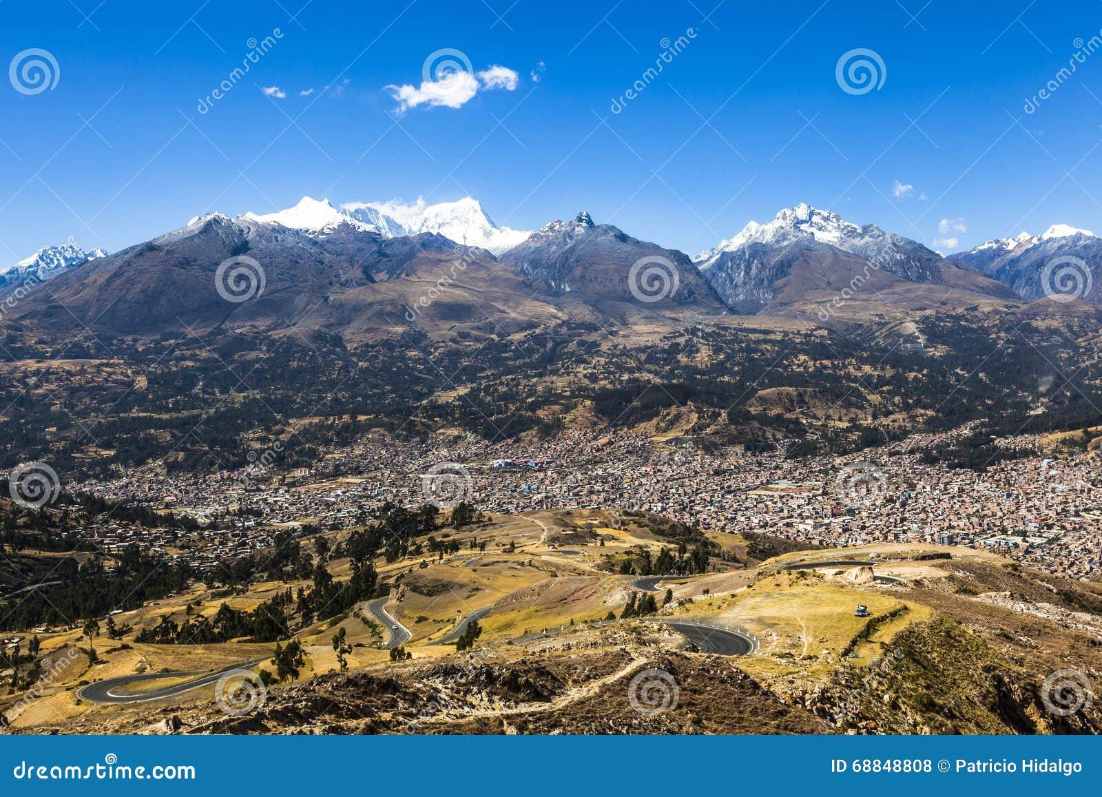 BLANCA de Cordiliera, Huaraz, Peru