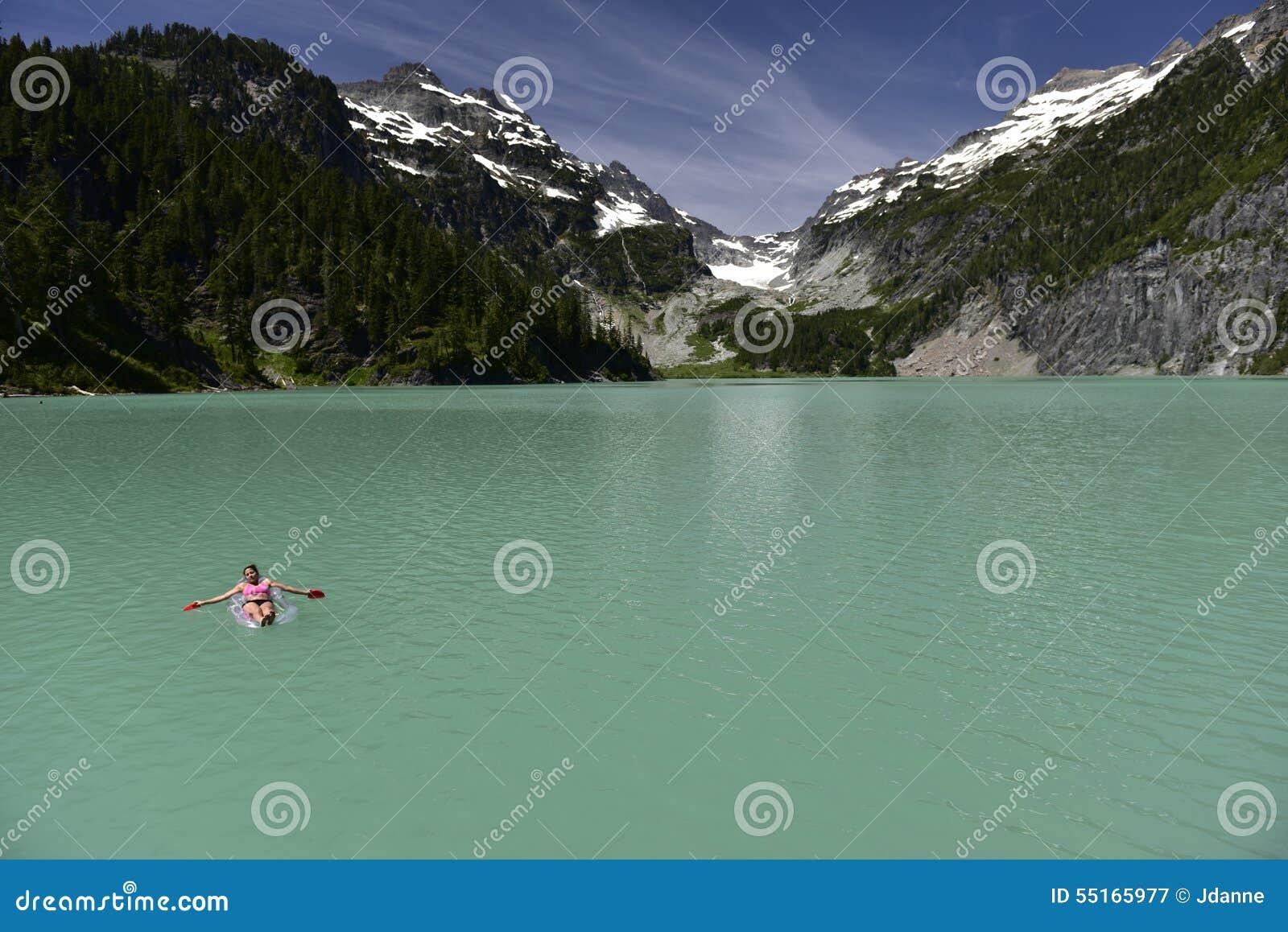 Blanca Lake, Washington, de V.S.