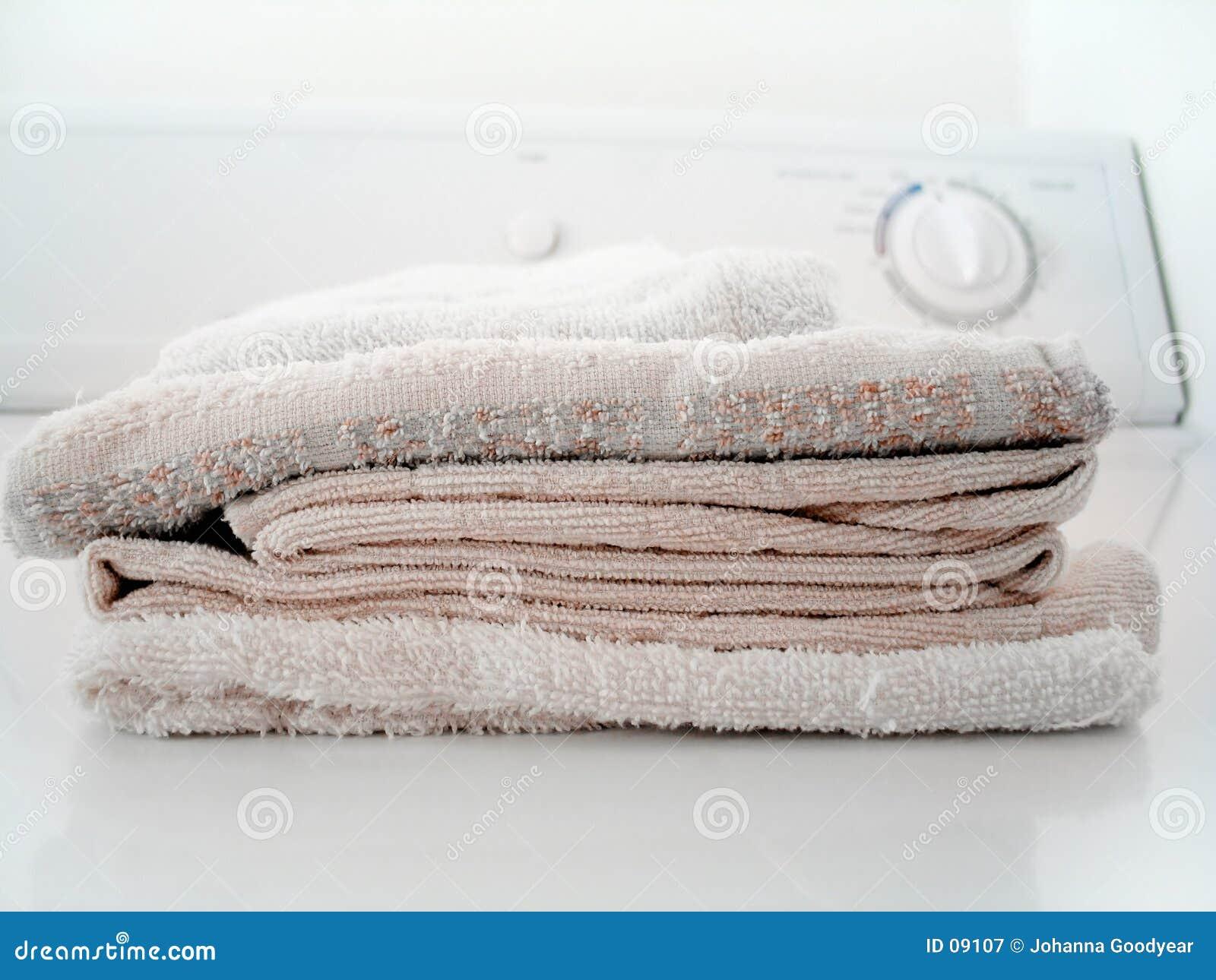 Blanchisserie pliée