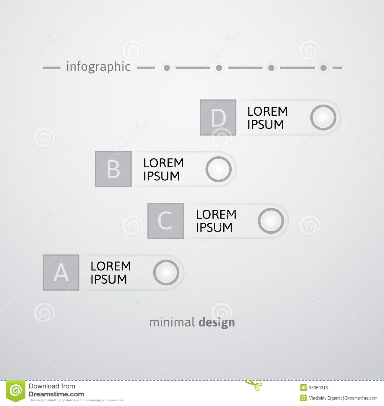 Blanco alrededor y plantilla del diseño de la tira