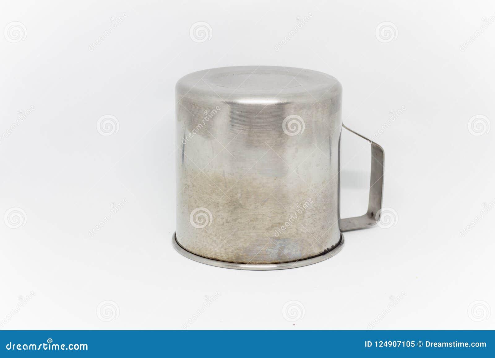 Blanco de cristal del blackground del acero inoxidable