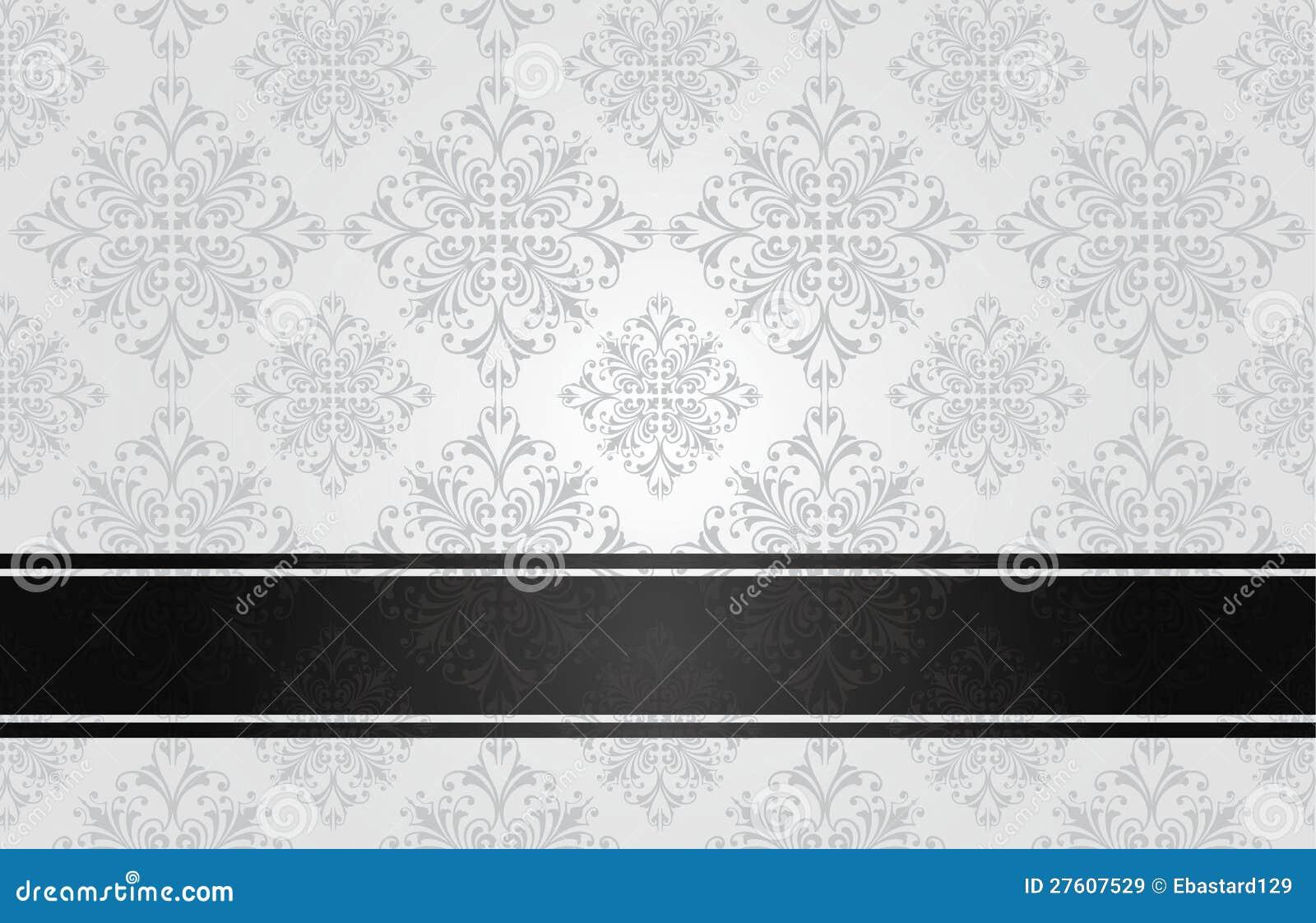Blanco floral de lujo