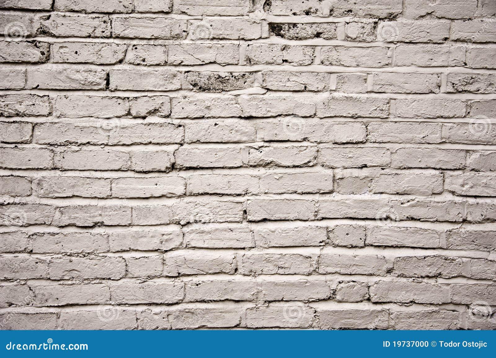 Blanco pintado envejecido fuera de textura de la pared de - Pared ladrillo blanco ...