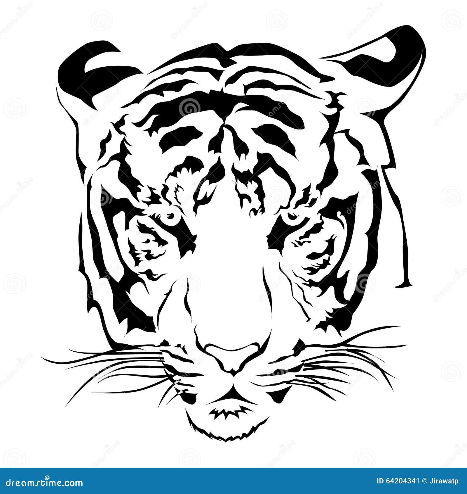 Kleurplaten Witte Tijger.Witte Tijger Kleurplaat Ausmalbild Bengalischer Tiger Ausmalbilder