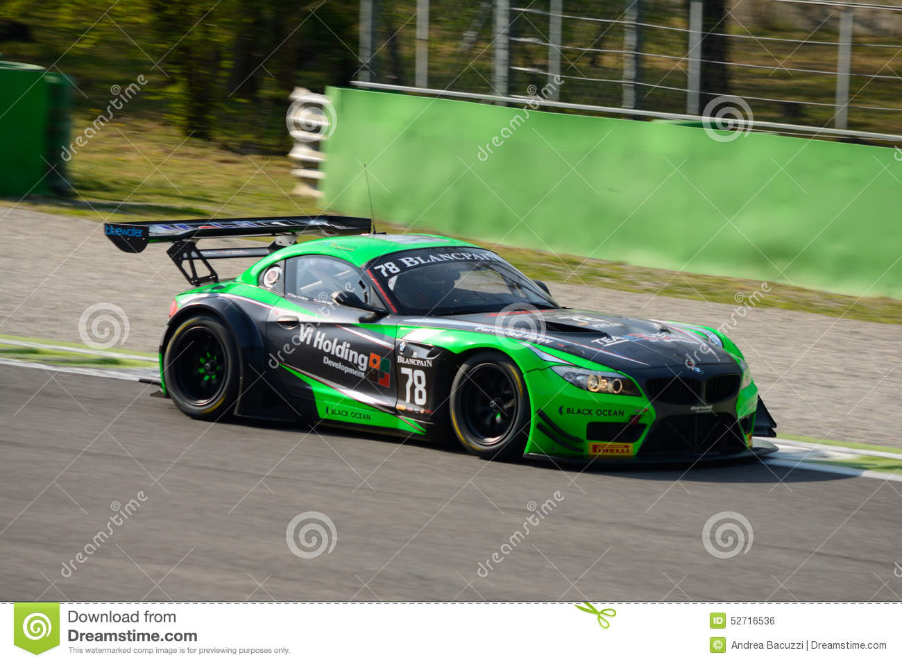 Blancpain Series 2015 Bmw Z4 Gt3 At Monza Editorial Photo Image 52716536