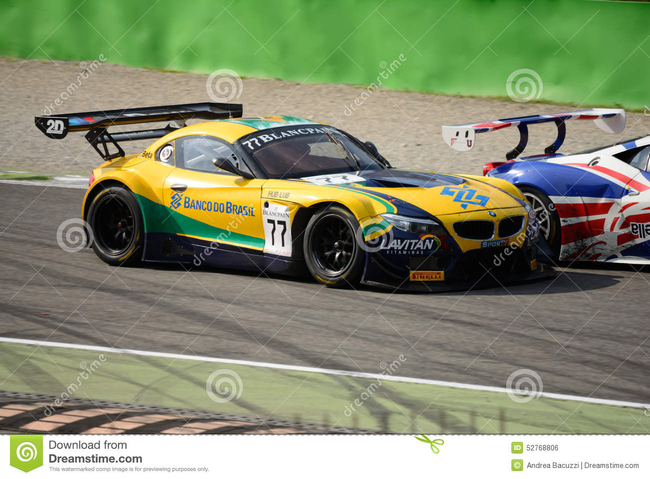Blancpain Series 2015 Bmw Z4 Gt3 At Monza Editorial Photo