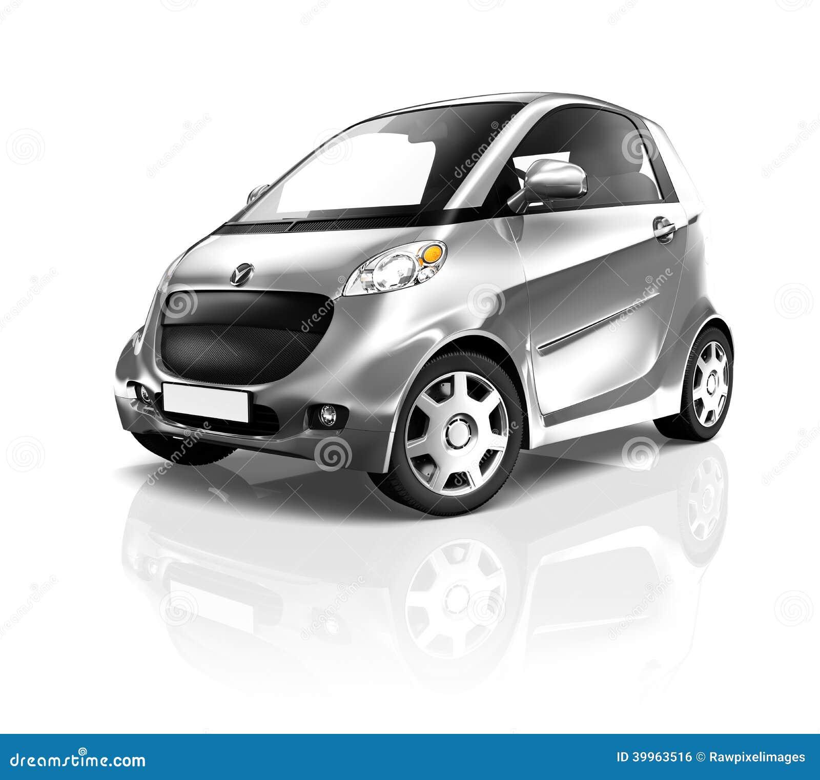 Bland och svart bil för elkraft