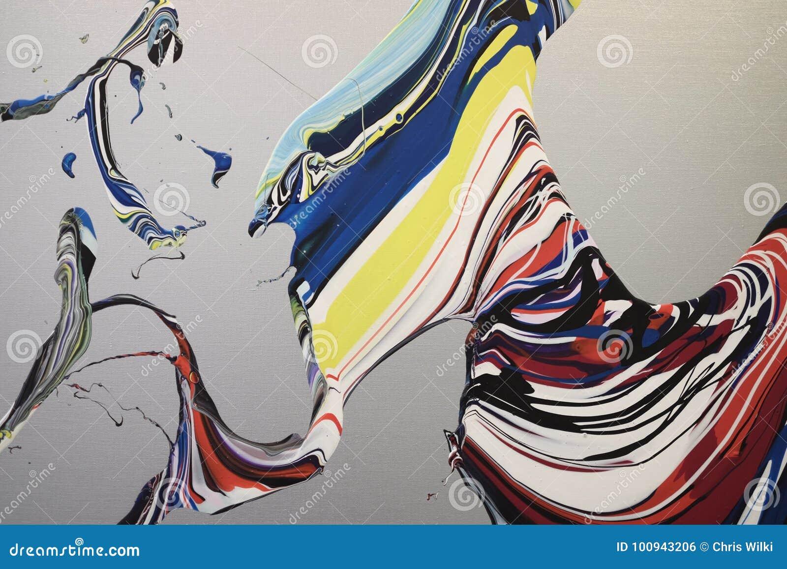 Blandad målarfärgbakgrund
