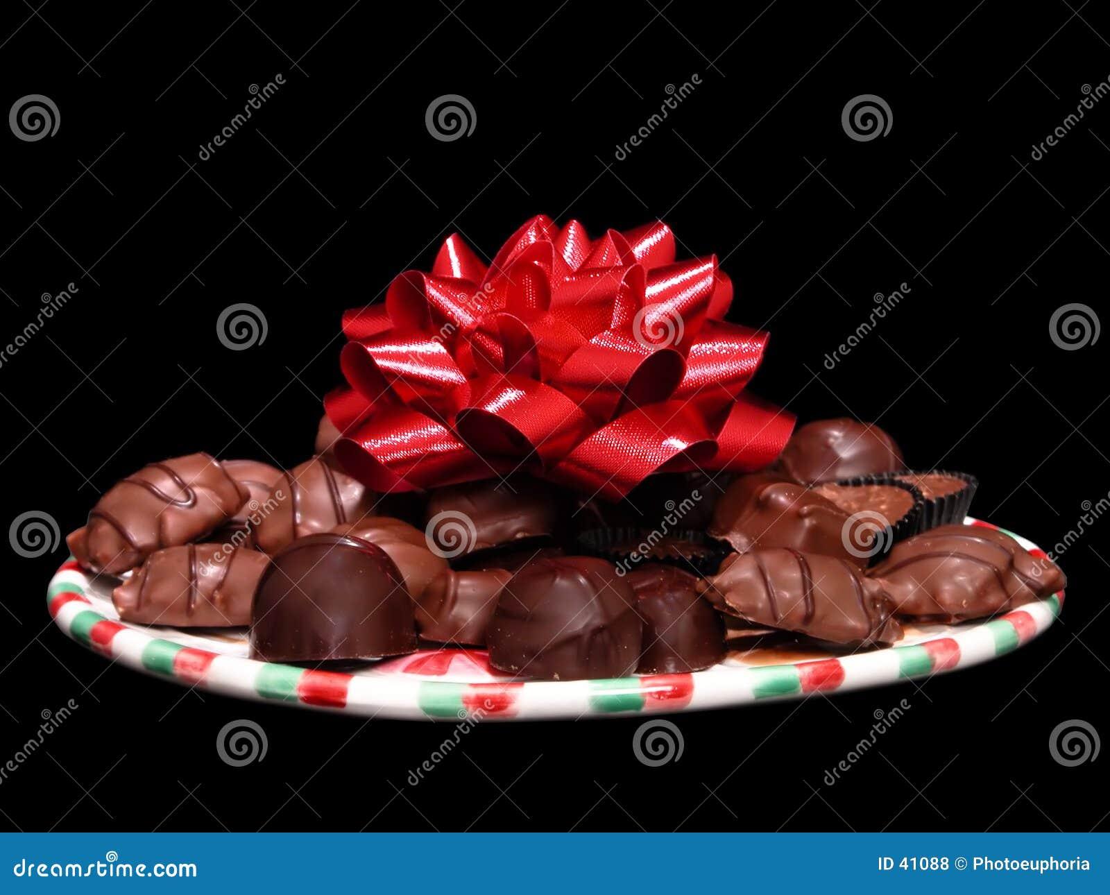 Blandade choklader