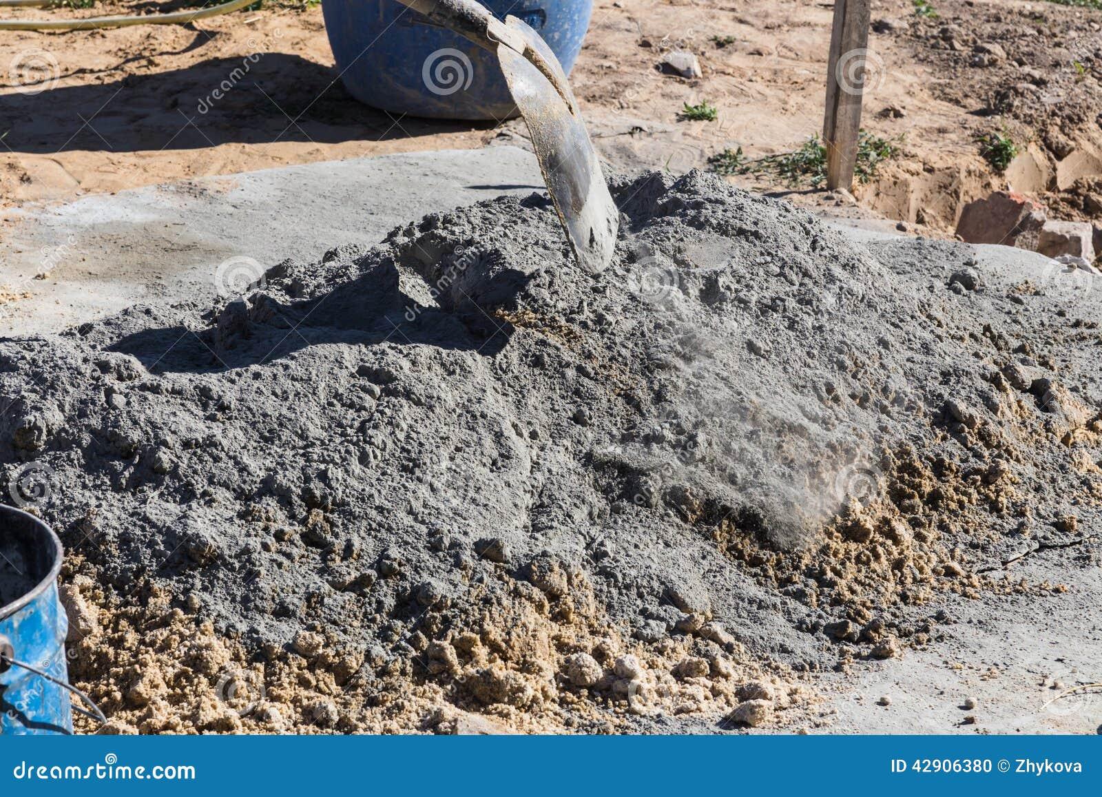 blanda cement sand