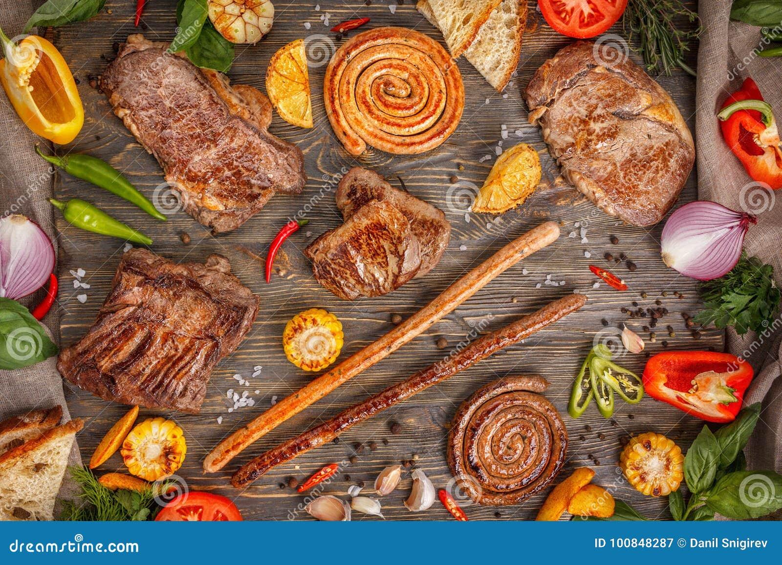 grönsaker till grillat kött