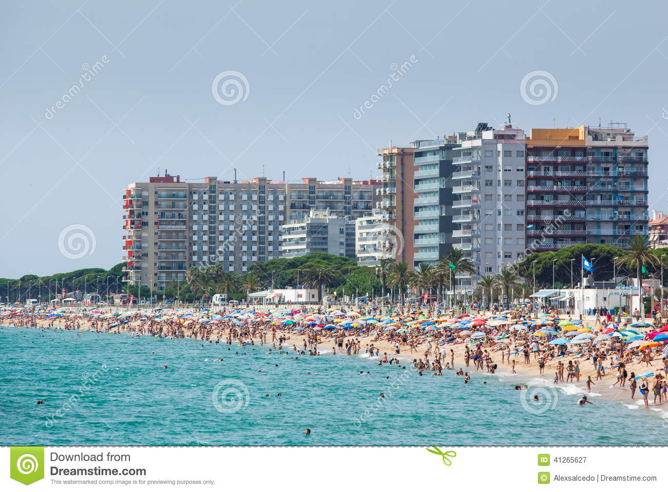 The favourite travel destination for tourists blanes july 26 2012