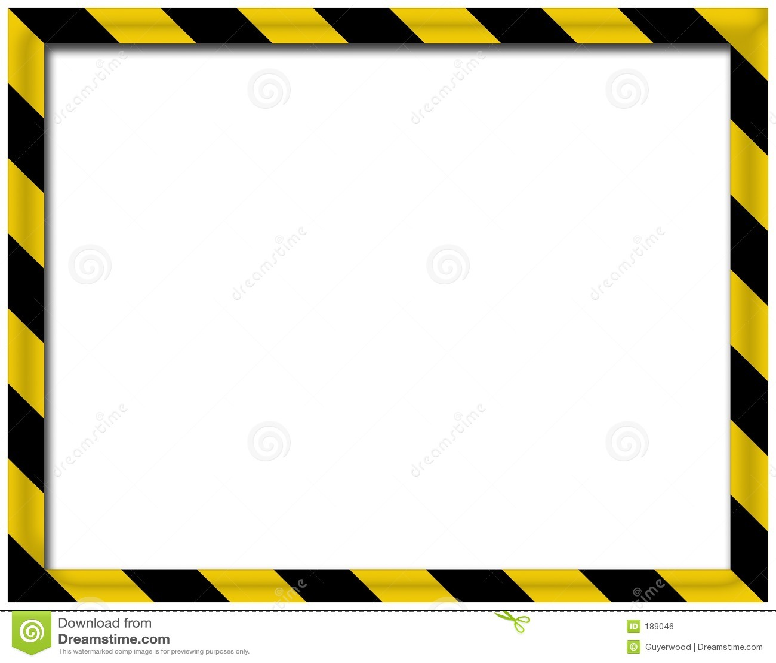 blank 3d frame