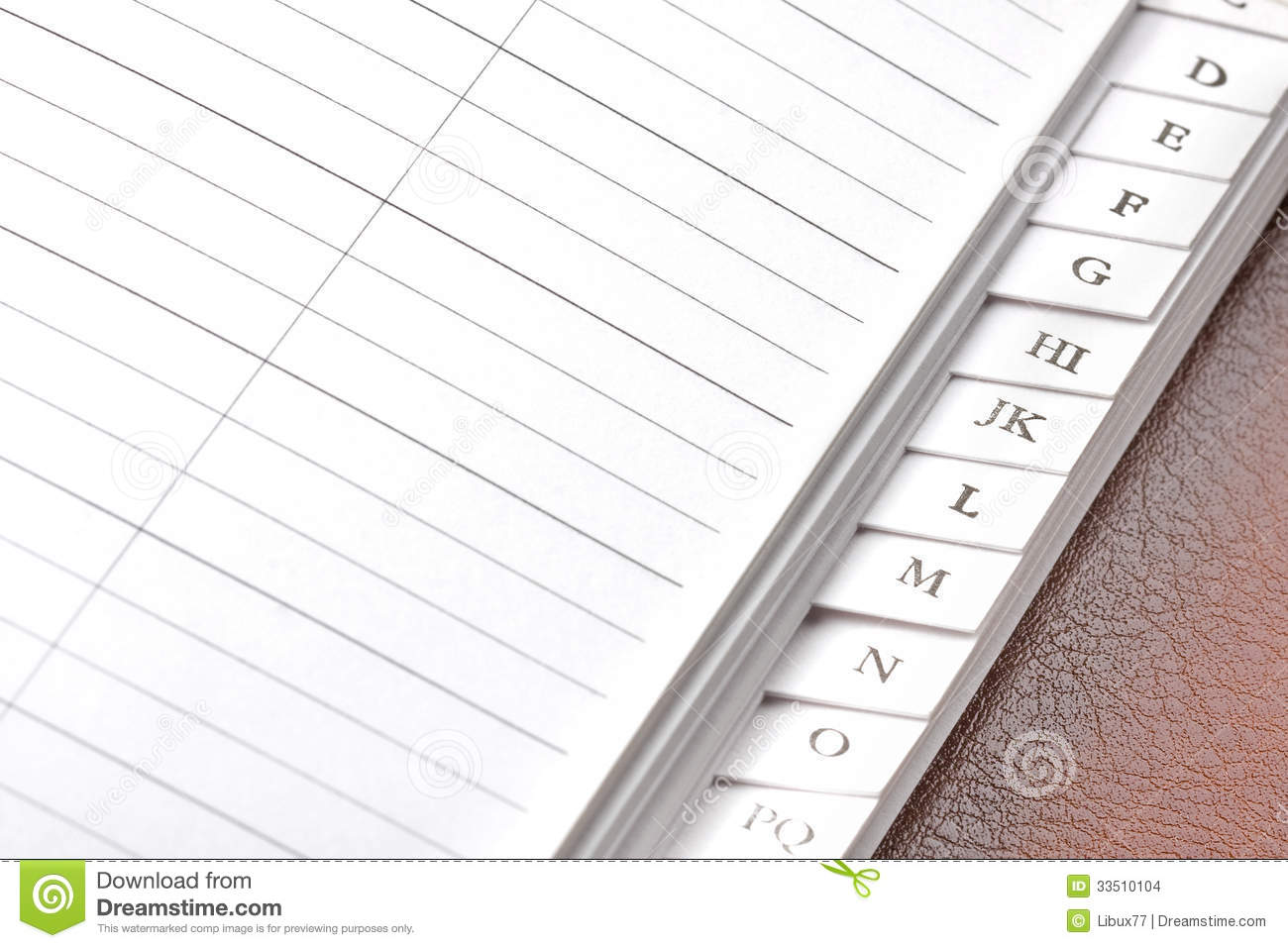 blank address book stock photo image of book meeting 33510104