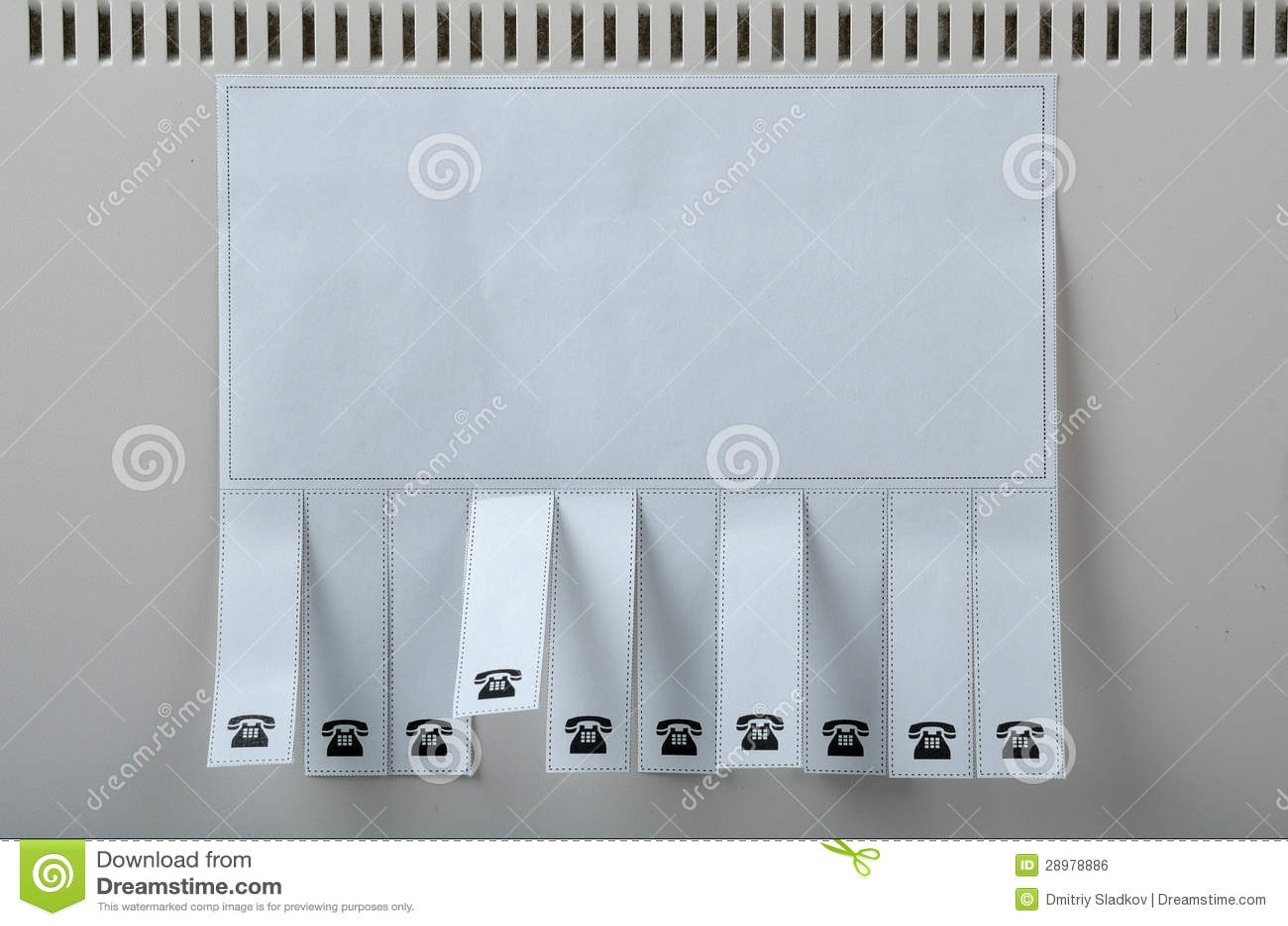 Blank ads