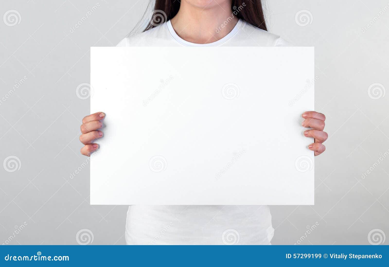 Blank affisch