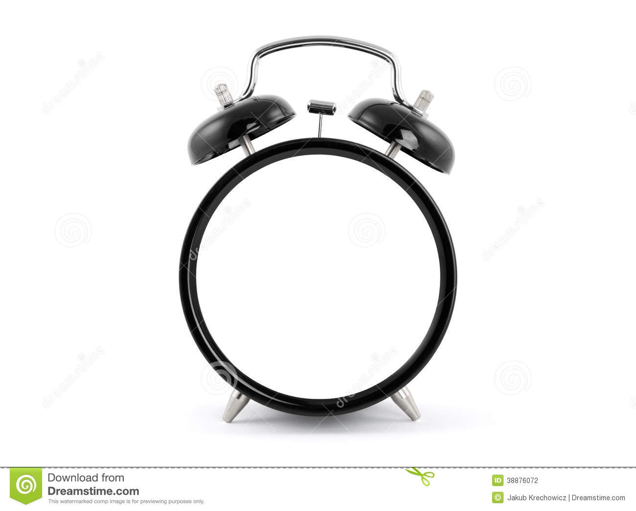 worksheet Empty Clock blank alarm clock stock photo image 38876072 royalty free download clock