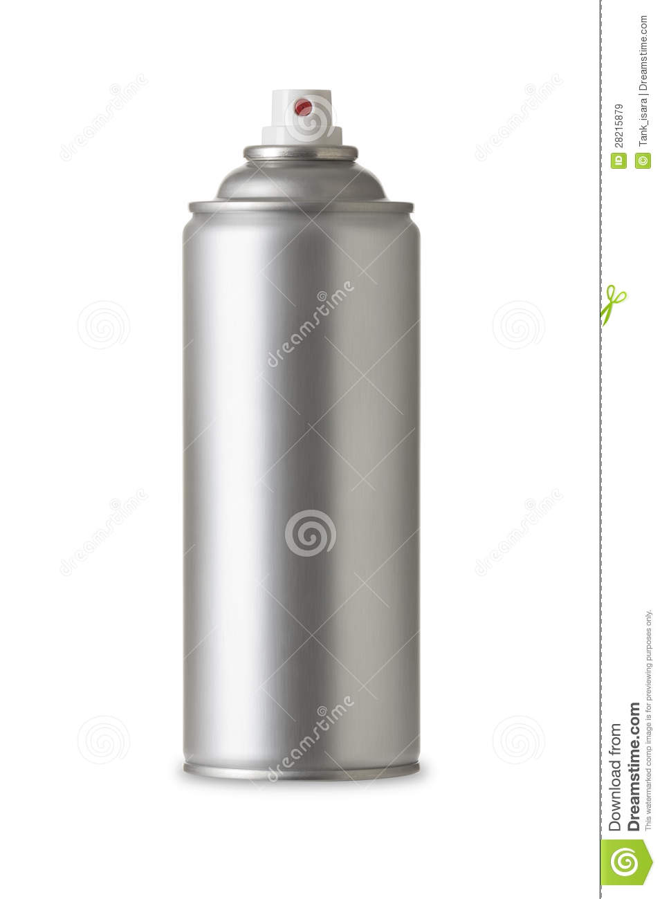 Blank aluminum spray paint can realistic photo image stock image image 28215879 Paint with spray can