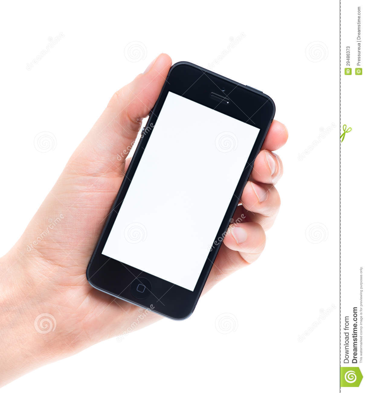 blank apple iphone 5 in hand editorial stock photo image of rh dreamstime com Cell Phone Clip Art Wholesale Blank Cell Phone Cases