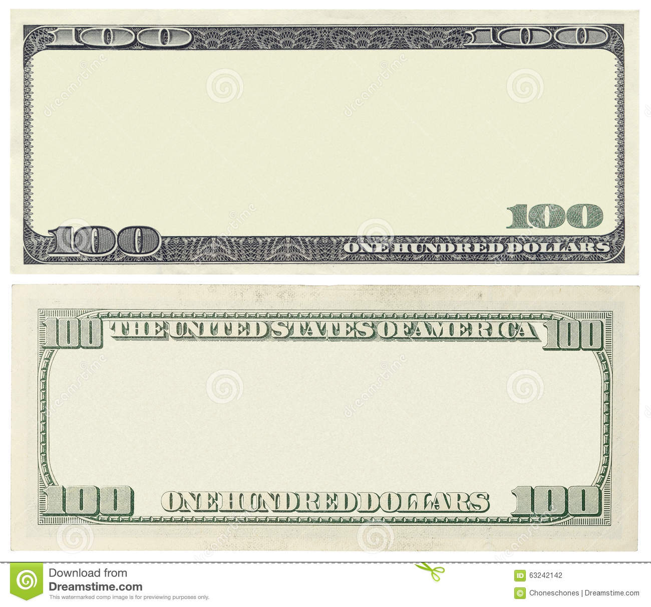 blank banknote stock photo image 63242142