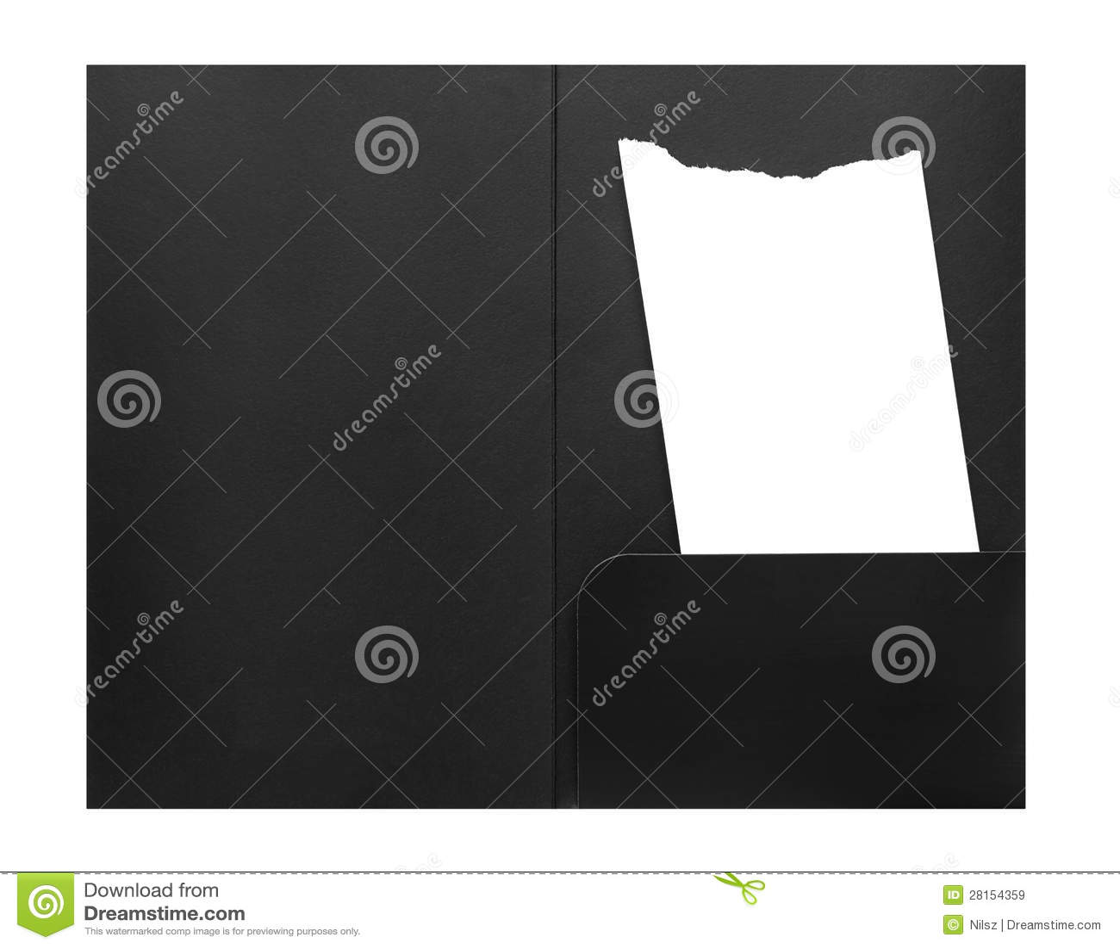 blank bill receipt in envelope stock image image of finance