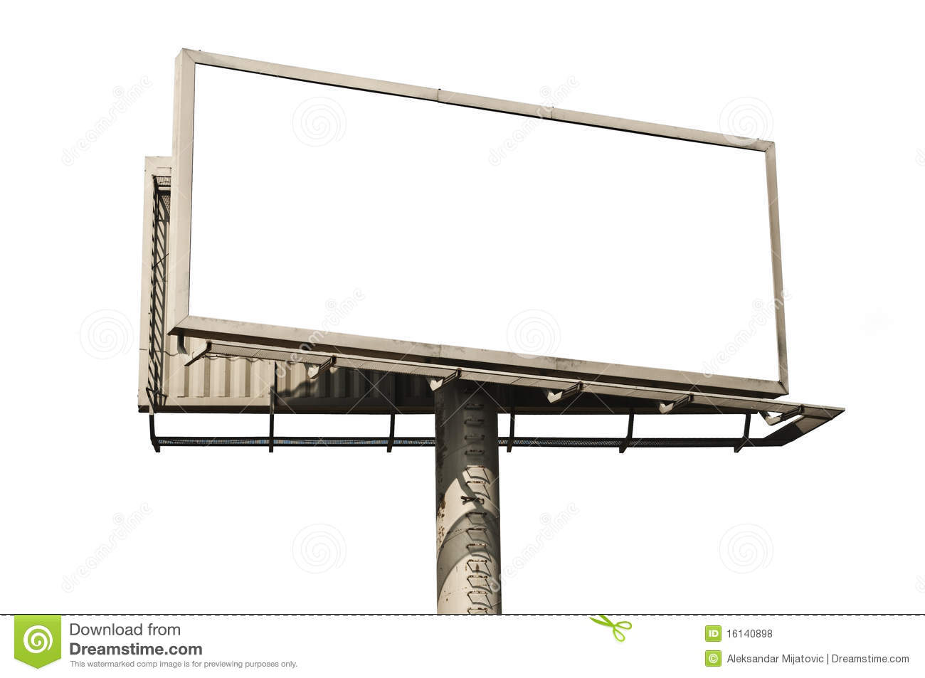 Blank Billboard Royalty Free Stock Photos Image 16140898