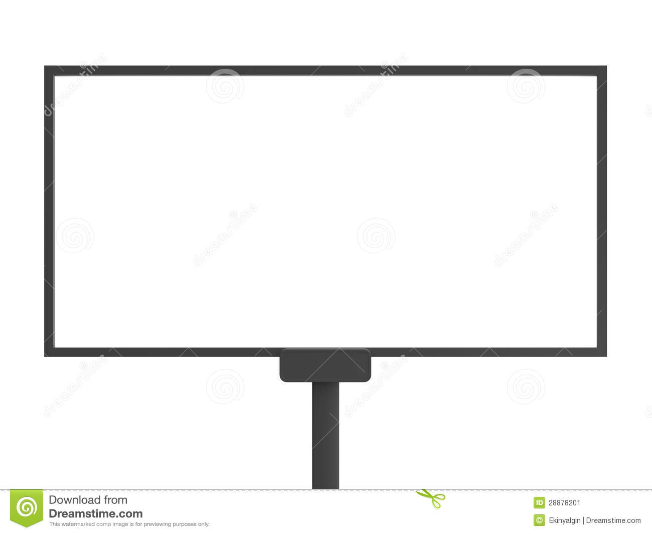 the gallery for blank billboard template. Black Bedroom Furniture Sets. Home Design Ideas