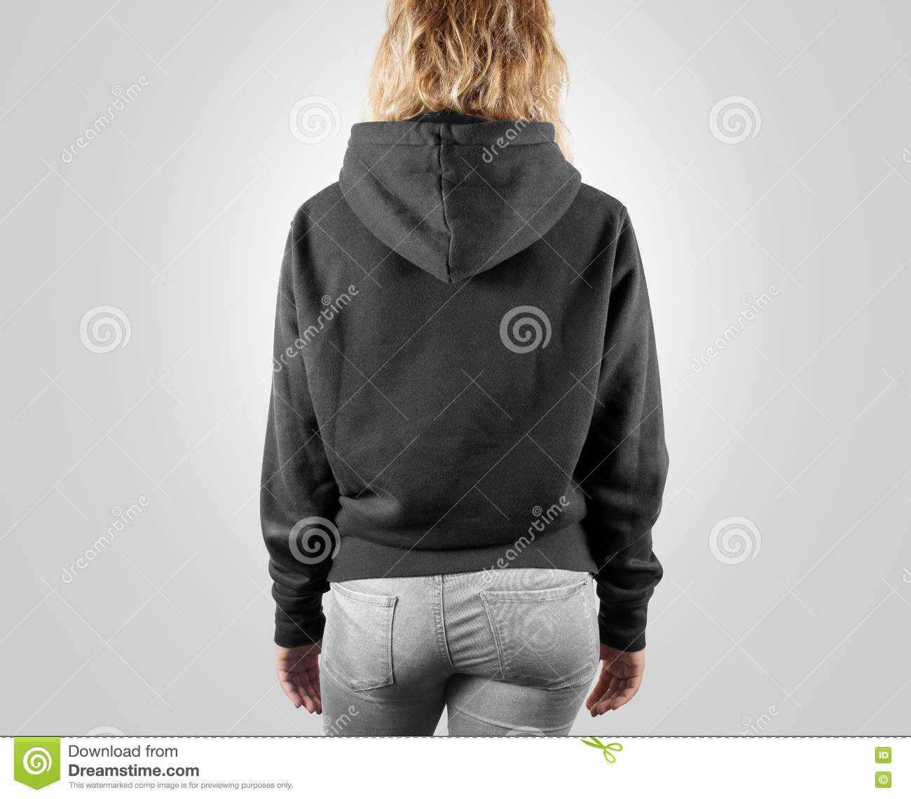Blank Sweatshirt Mock Up, Front, Back And Profile, . Stock ...