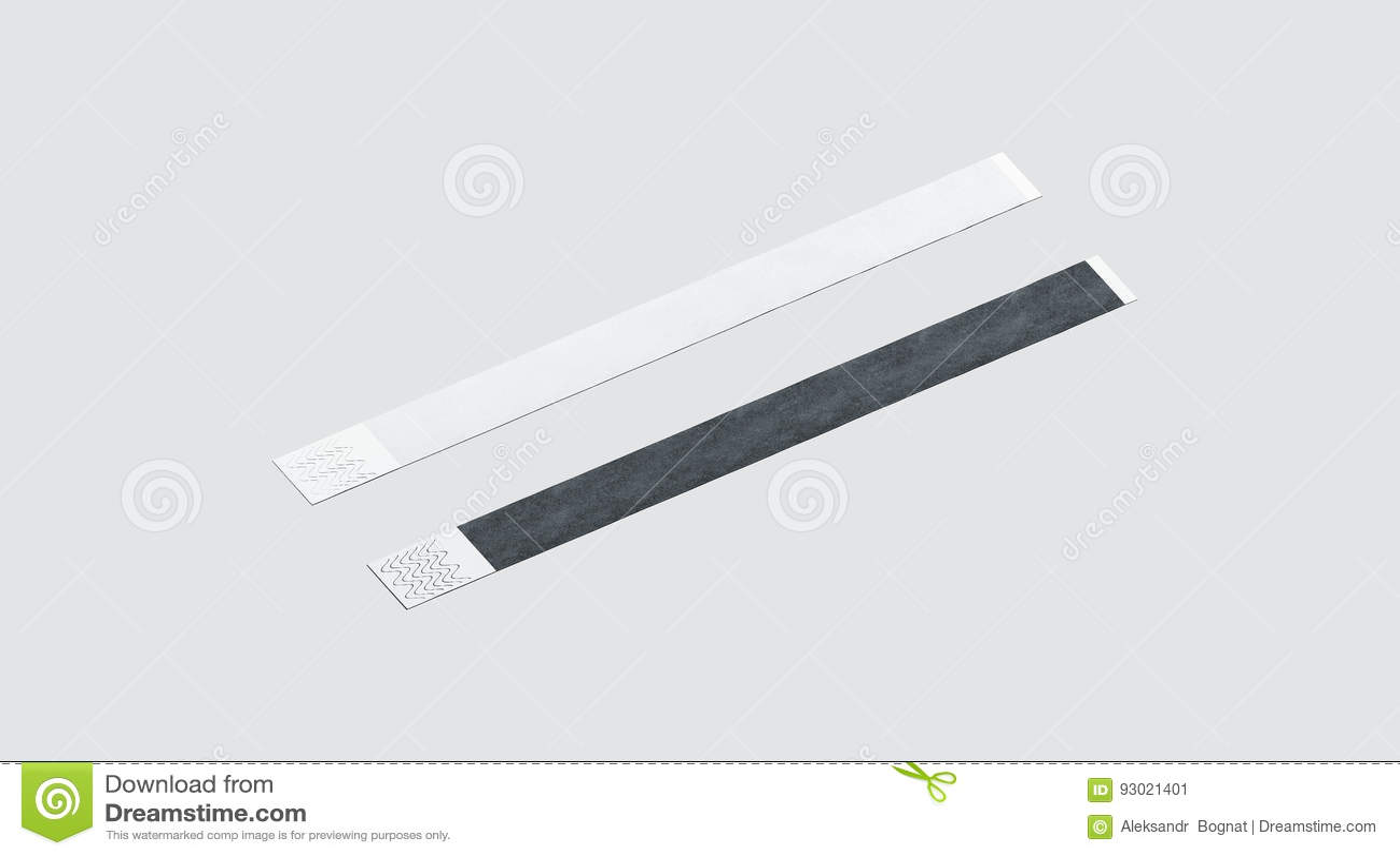 blank black and white paper wristband mockup stock image image of mockup care 93021401. Black Bedroom Furniture Sets. Home Design Ideas