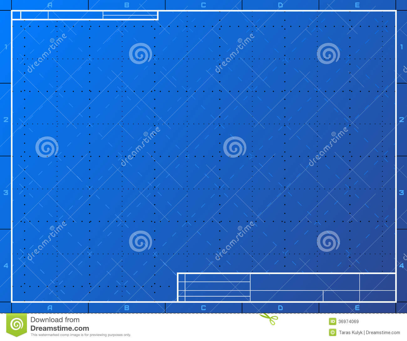 Blank blueprint paper for drafting stock vector illustration of blank blueprint paper for drafting malvernweather Gallery