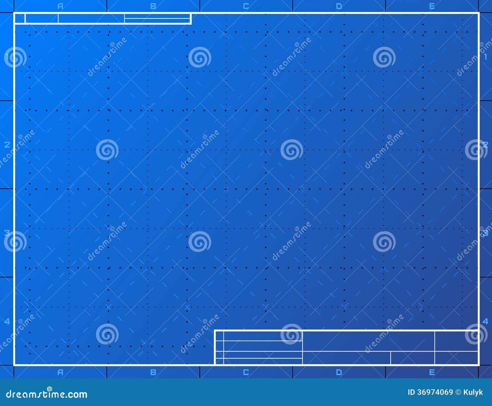 Blank blueprint paper for drafting illustration 36974069 megapixl malvernweather Images