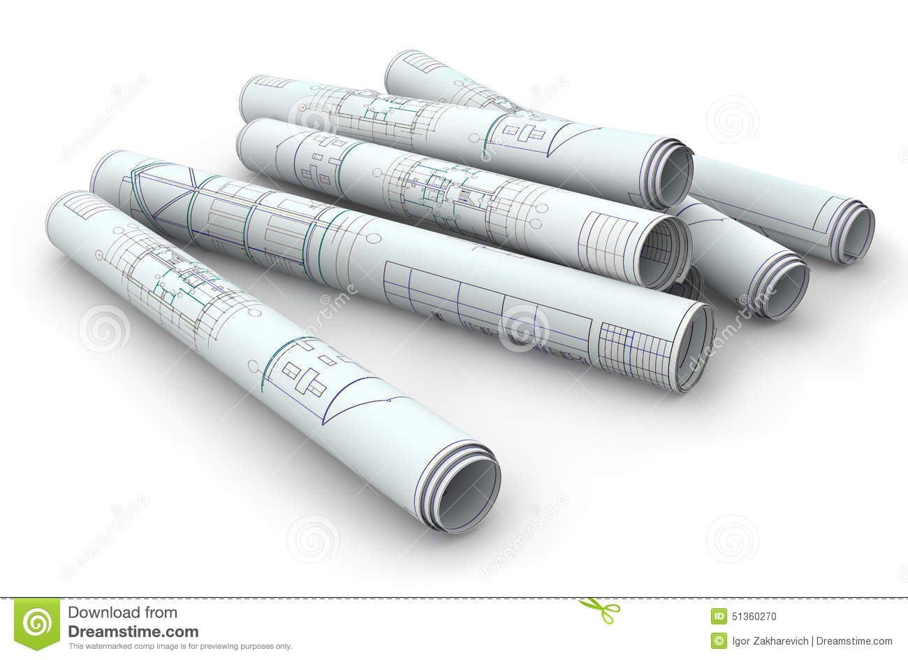 Blank blueprint roll of paper stock photo image of lush blank blueprint roll of paper malvernweather Gallery
