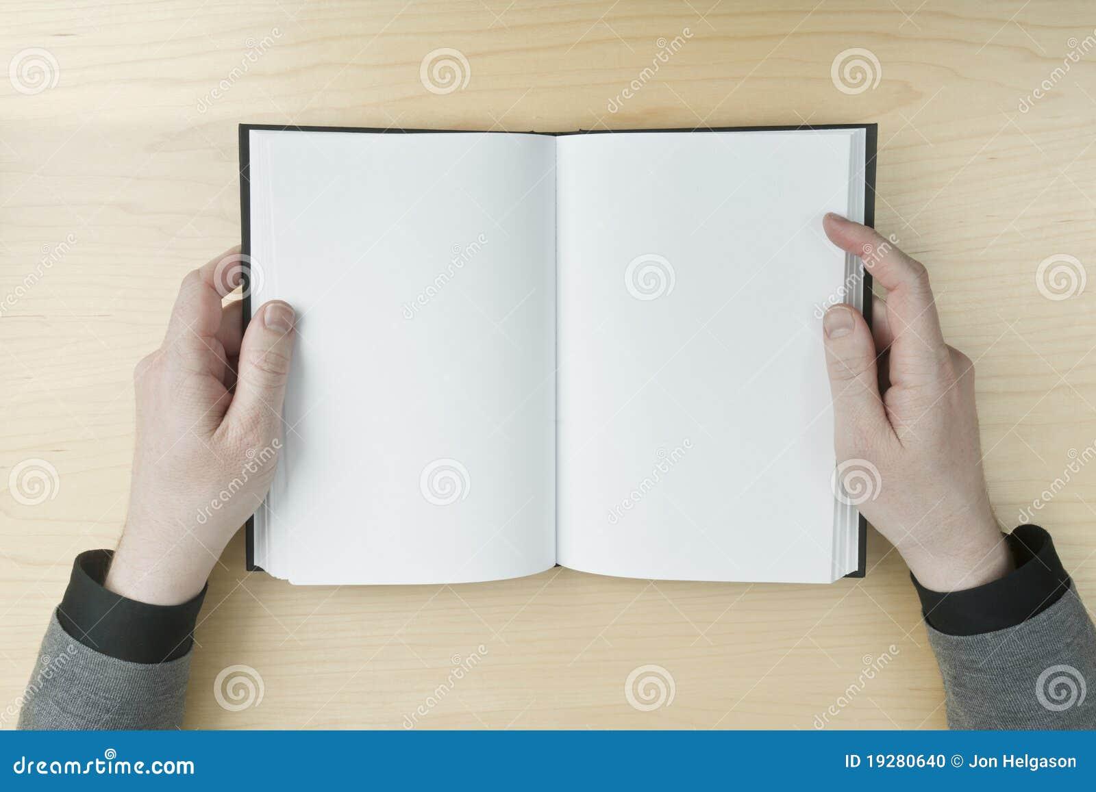 Blank bokmanavläsning