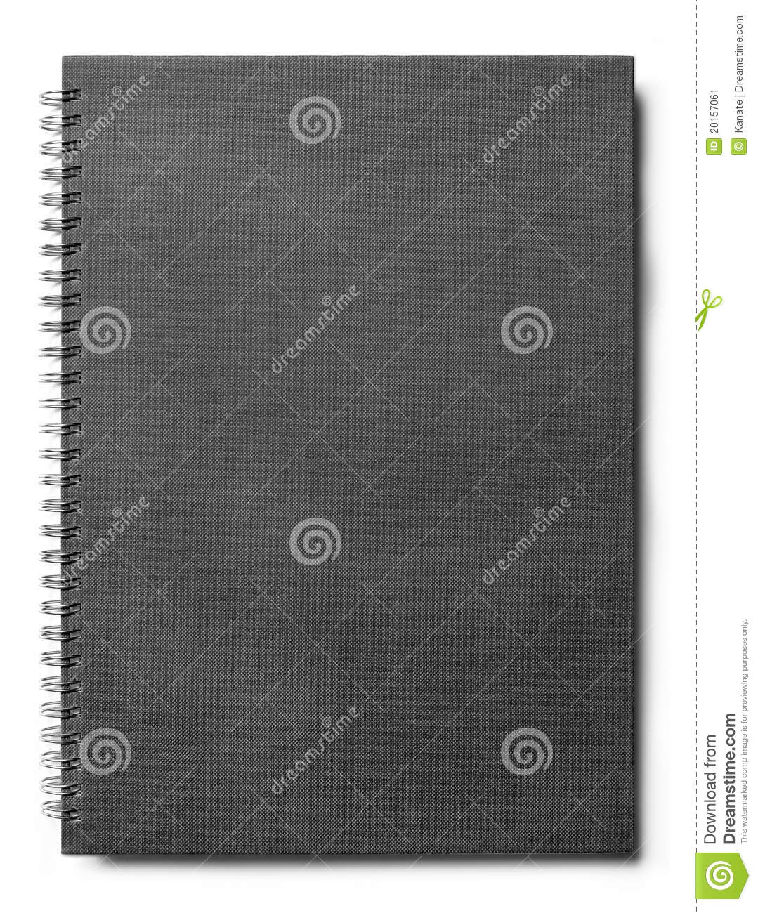Book With A Black Cover ~ Blank book with black cover stock image