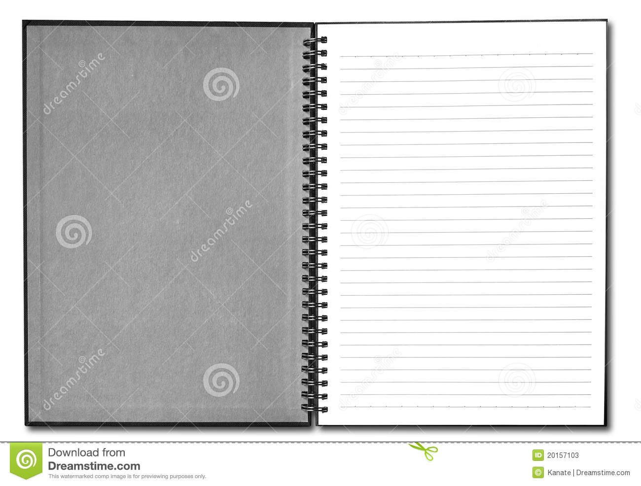 Blank Black Book Cover : Blank book with black cover stock photos image