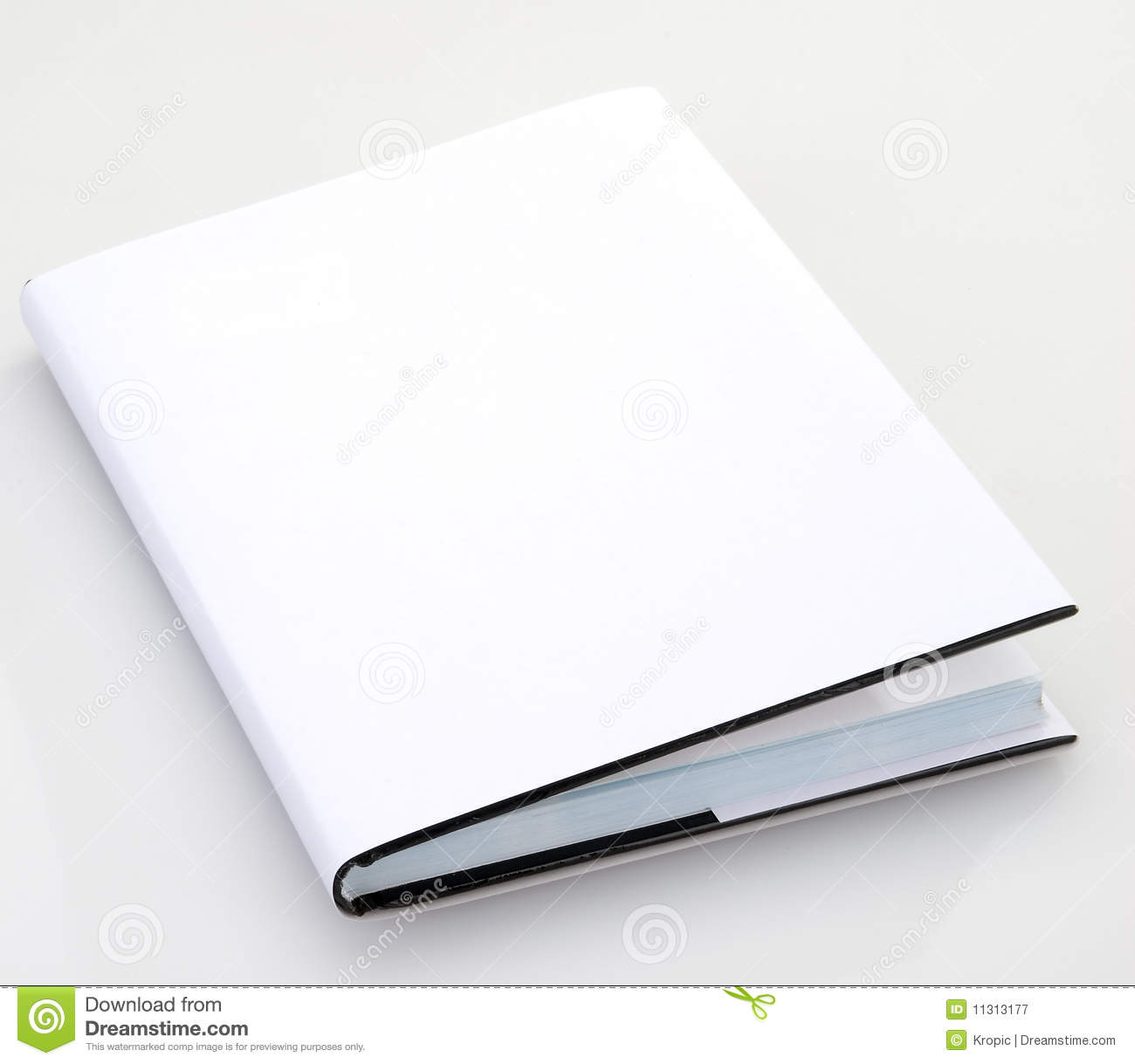 Book Cover Stock Photography ~ Blank book cover stock image of