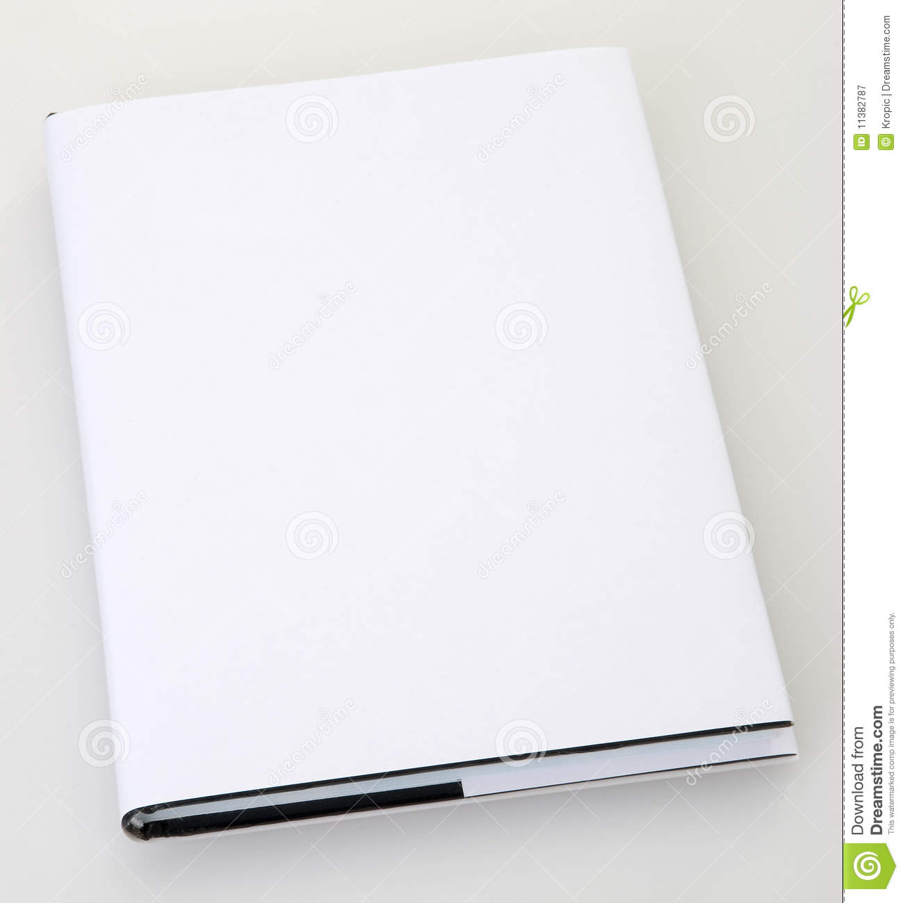 Book Cover Stock Photography ~ Blank book cover royalty free stock photography image