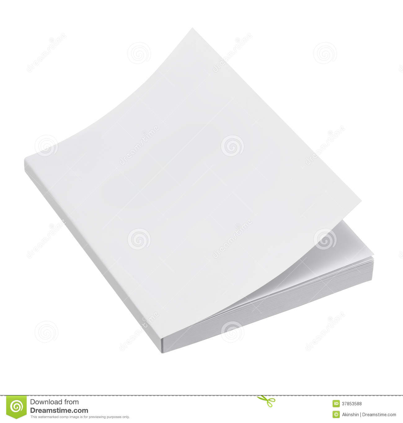 White Book Cover Paper ~ Blank book cover stock photo image of empty learning