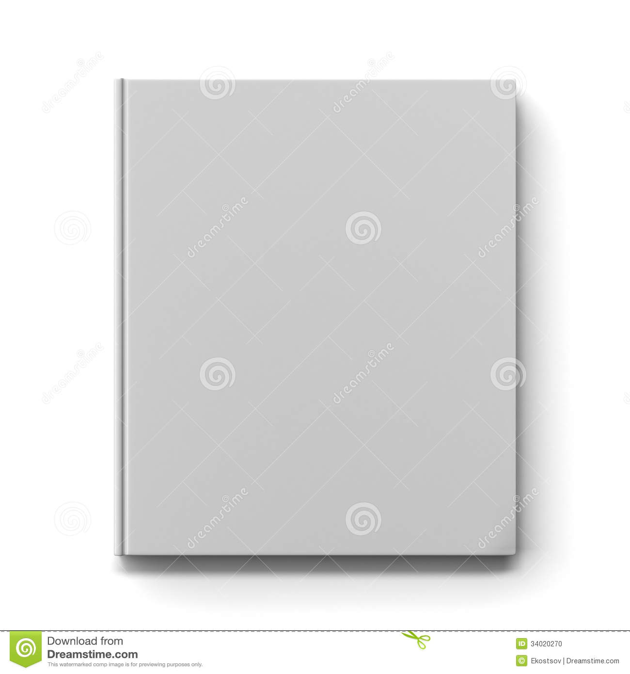 Blank Book Cover Background ~ Blank book cover stock photo image