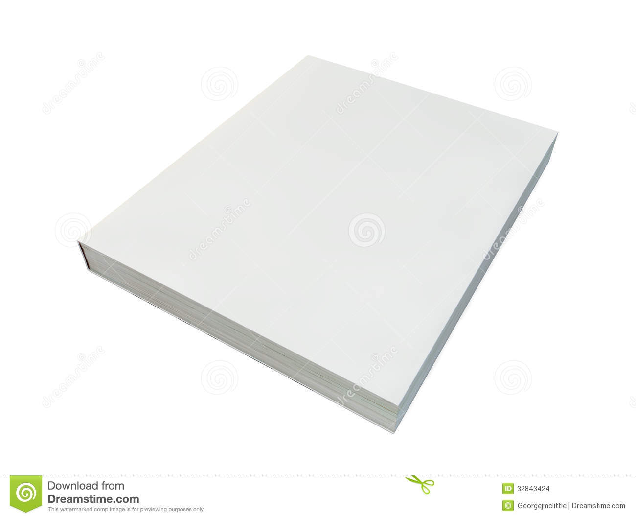 Blank book cover stock illustration illustration of empty 32843424 blank book cover pronofoot35fo Images