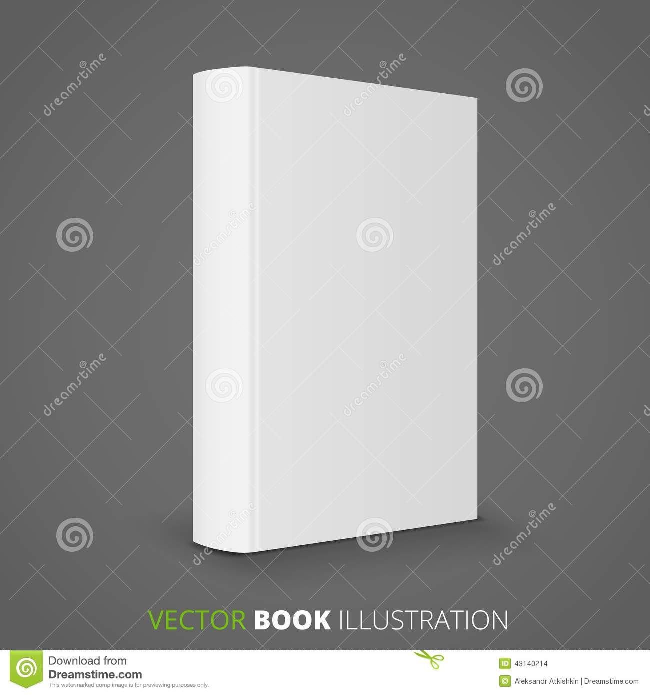 Blank Book Cover Vector Illustration Free : Blank book stock vector image of reading commercial
