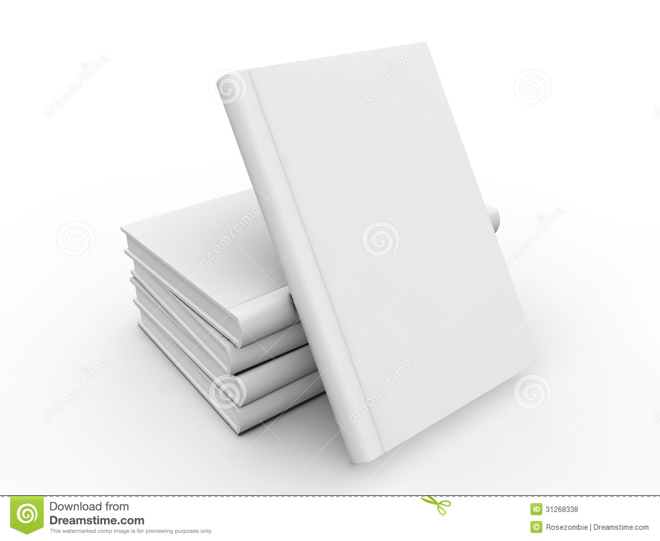 Book Cover White Background : Blank book cover stock illustration image of writing