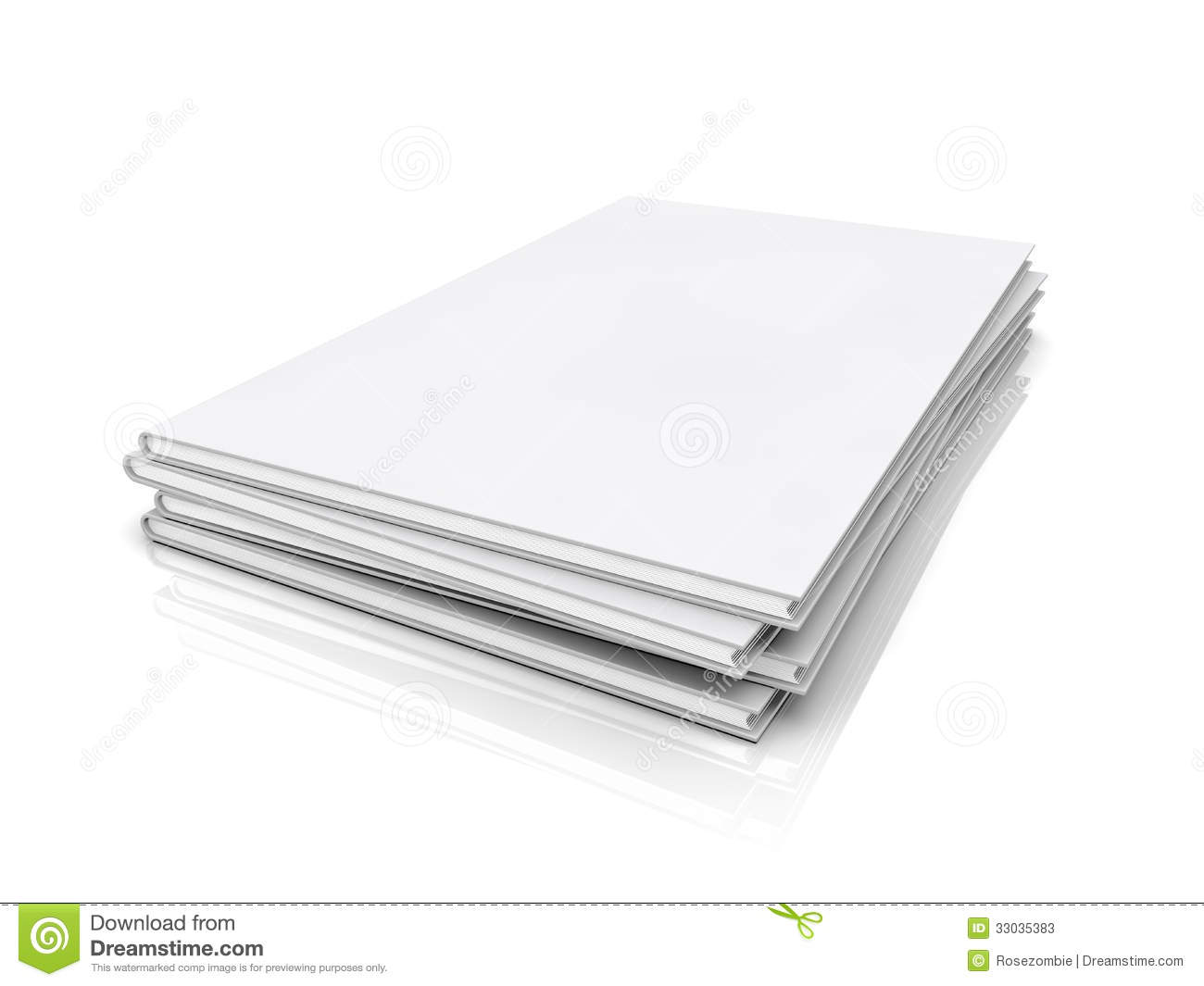 Book Cover White Background : Blank book cover stock illustration image of desk author