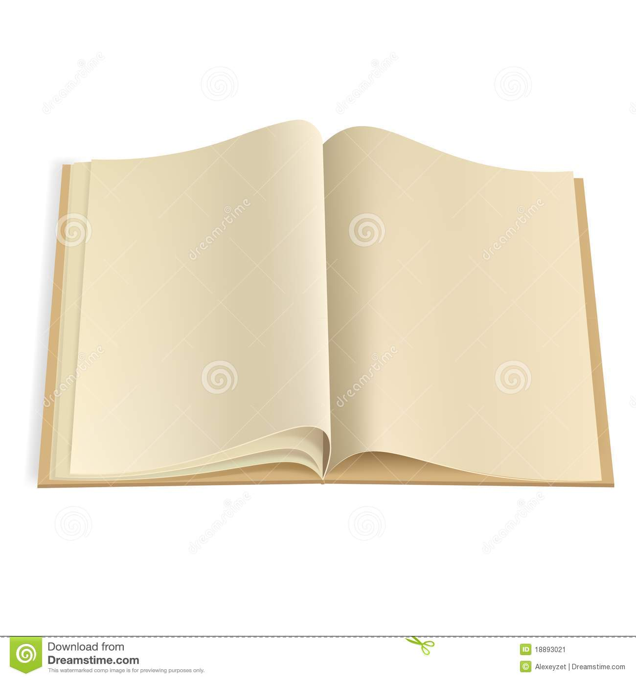 blank book pages template stock photography image 3662222